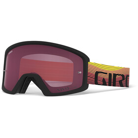 Giro Blok MTB Goggles orange/black heatwave, vivid trail/clear